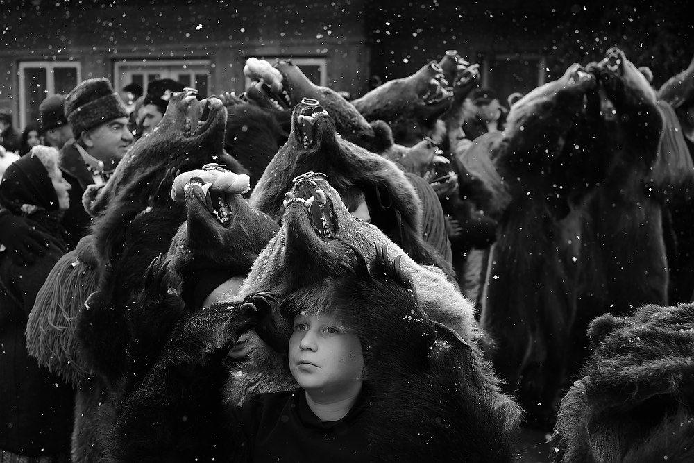 012 fotograf Dan Malureanu - dansul ursilor