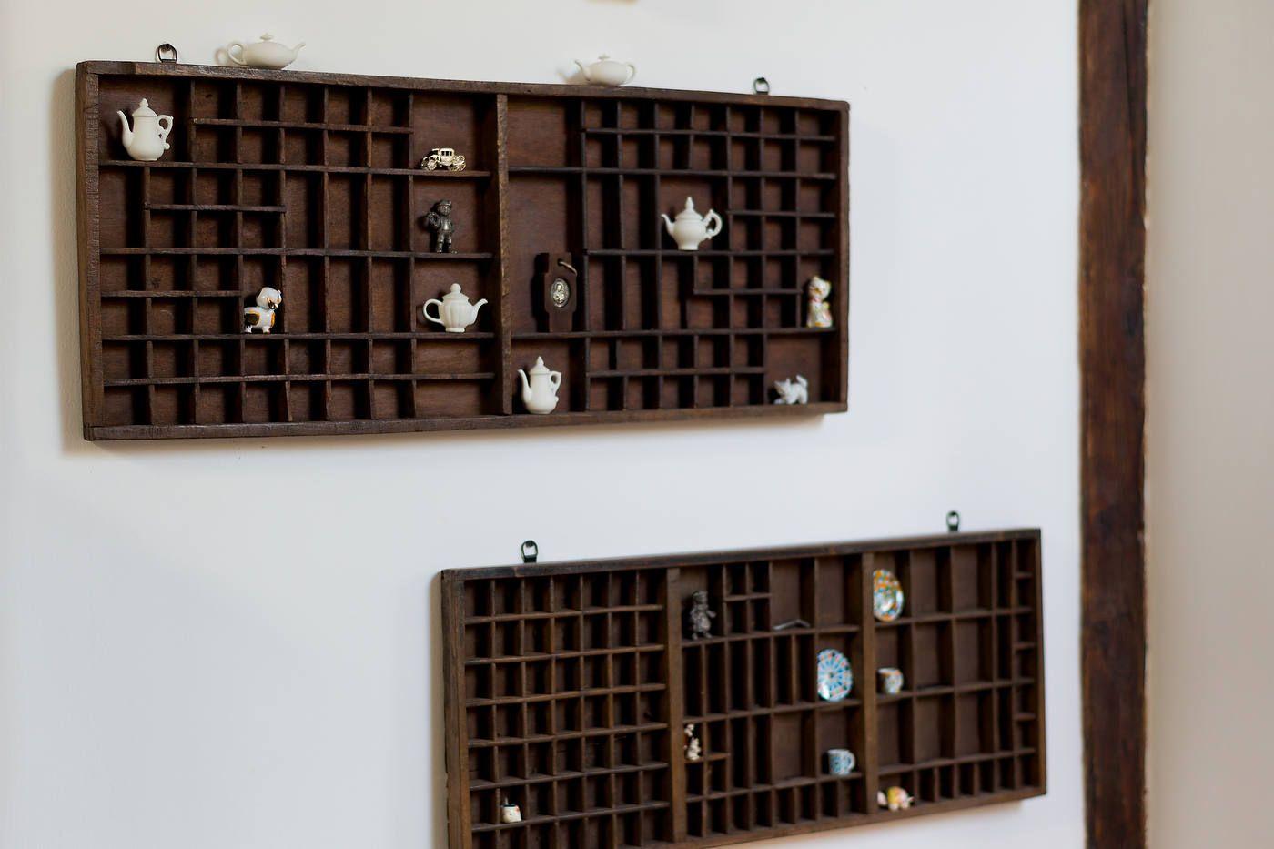 panou cu obiecte artizanale din bucatarie - design interior