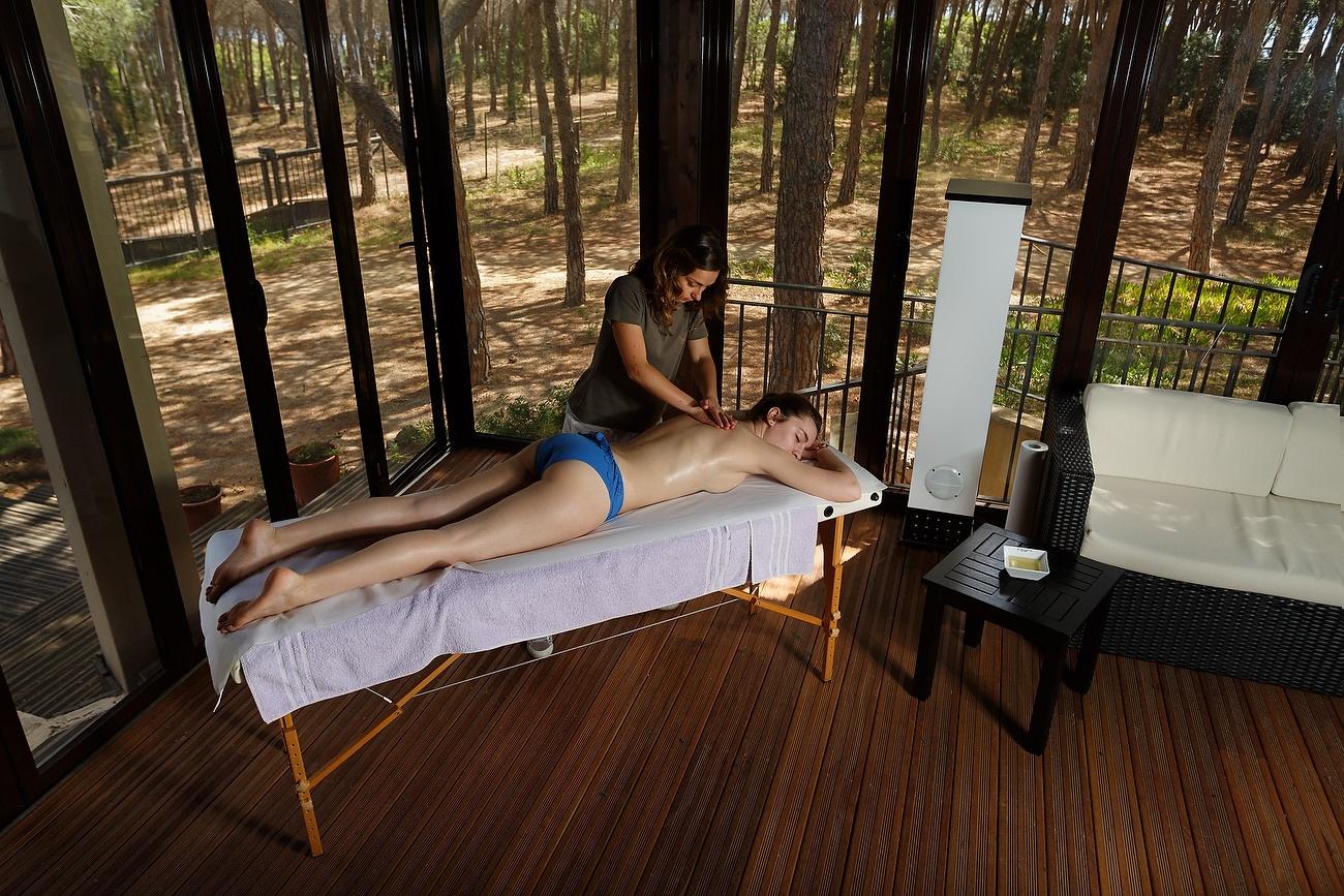 Salon spa de la Hotel Matta Village