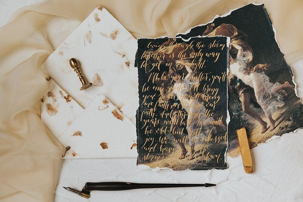Caligrafia și invitatii de nuntă Brașov