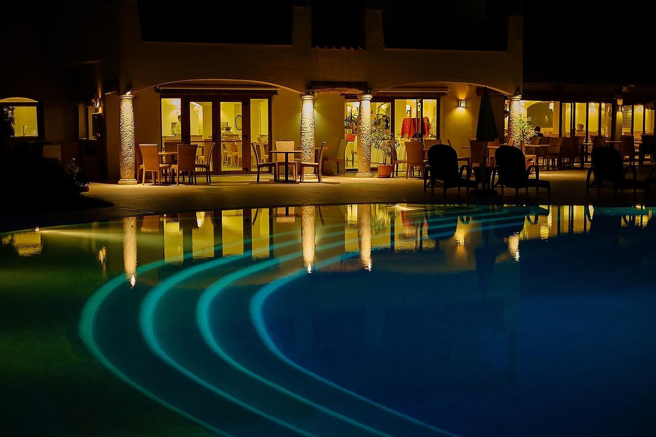 Imagine nocturna cu Hotelul Matta Village